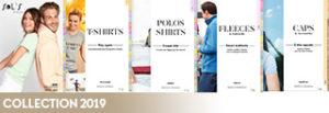 Catalogue de vêtement personnalisé pour association Sol's