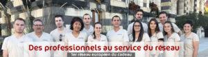 Une équipe professionnel au service du réseau Avenue Du Cadeau