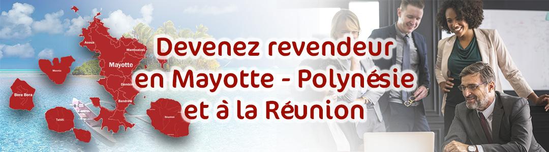 Devenez distributeur en objet publicitaire et vêtement personnalisé en Réunion , Mayotte, Polynésie